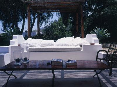 15 Guest House divano esterno